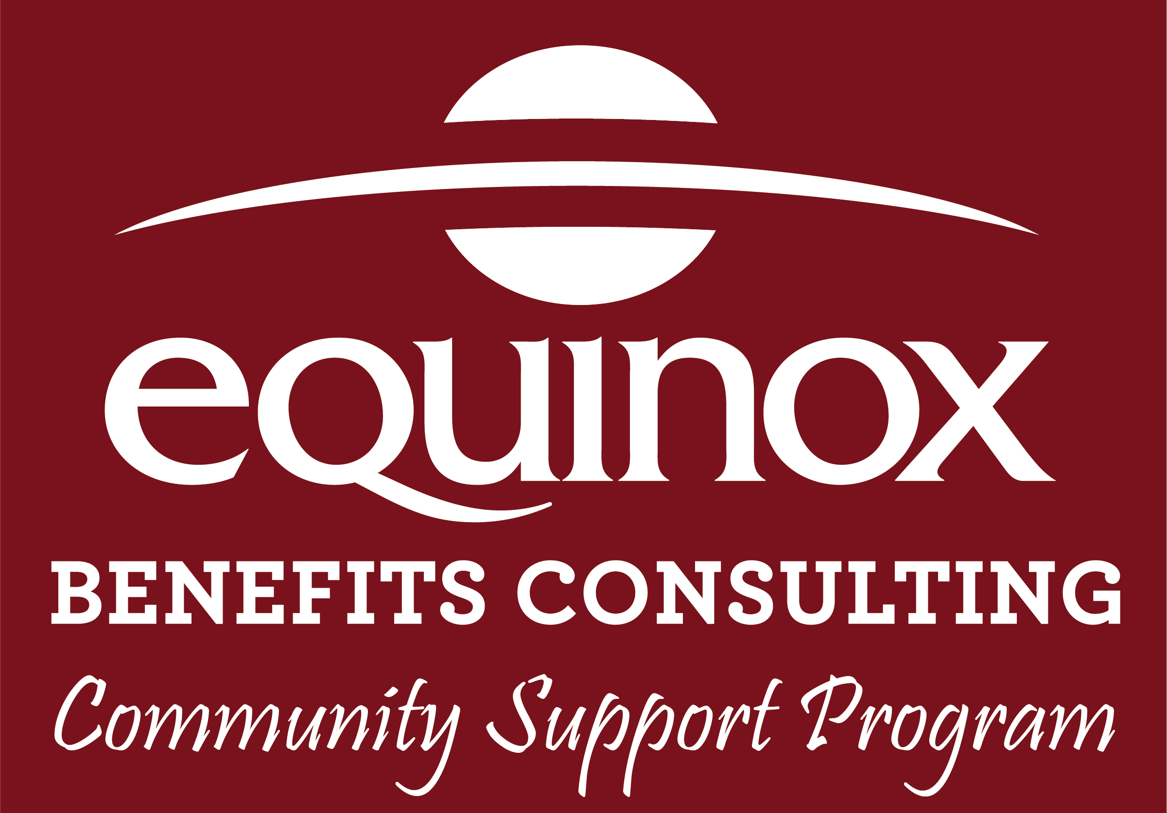 Equinox Benefits Consulting Community Support Program Logo