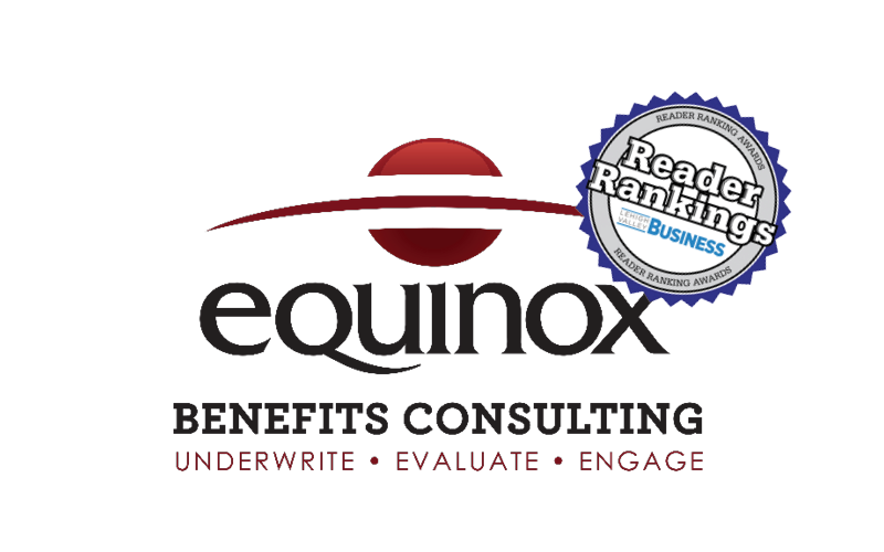 Equinox Benefits Consulting 2021 Reader Rankings Awards Nominations